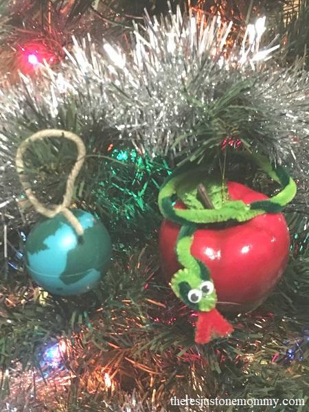 DIY Jesse tree ornaments