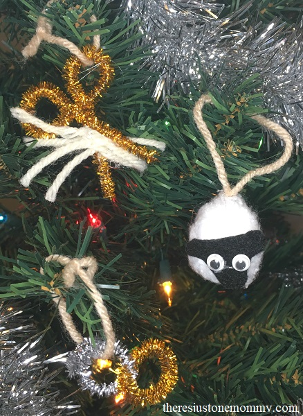 homemade jesse tree ornaments for days 8