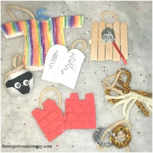 DIY Jesse tree ornaments kids can make