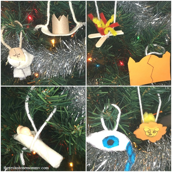 DIY Jesse tree ornaments for the second week of Advent