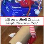 Christmas STEM: Build an Elf Zipline