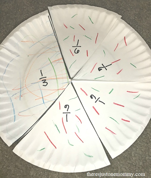 simple fractions activity