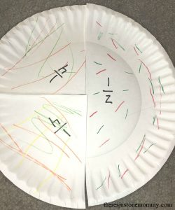 hands-on activity to teach fractions