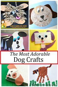 adorable dog crafts for kids