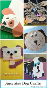 These adorable kids dog crafts are perfect for Year of the Dog craft, perfect for a Chinese New Year Activity. These dog crafts for kids will make kids of all ages smile.