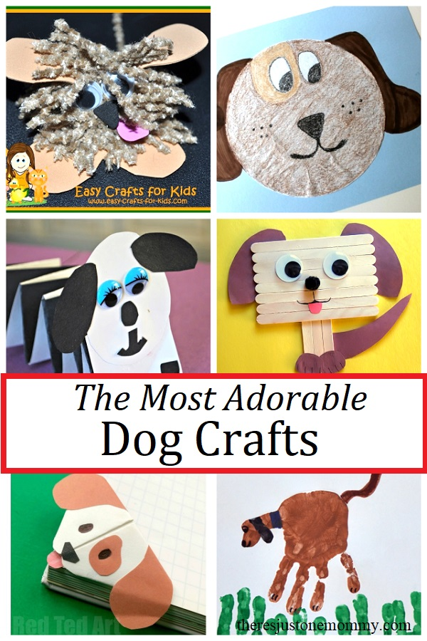adorable dog crafts for kids