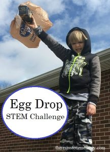 kids egg drop activity -- perfect activity for Horton Hatches the Egg