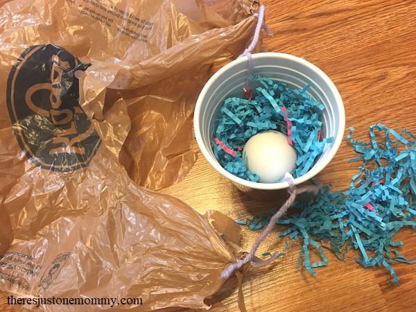 designing an egg drop STEM activity