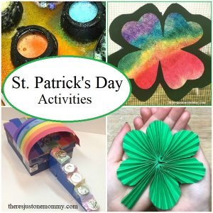 St. Patrick's Day activities for elementary kids
