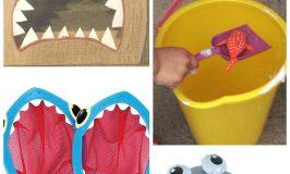 Shark party games -- perfect shark birthday party ideas