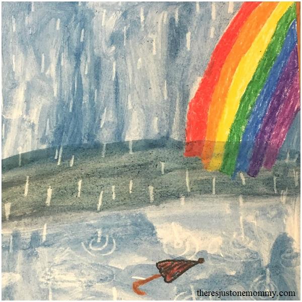 spring rain craft for kids