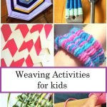 Colorful and Unique Weaving Activities for Kids