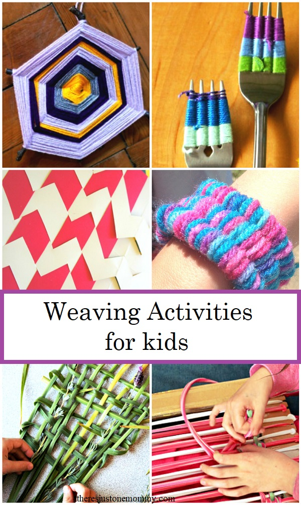 Weaving for kids: from straw weaving to nature weaving and how to make a God's eye, over 10 fun weaving activities for kids
