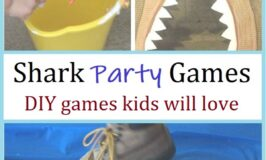 fun DIY shark themed party games for kids