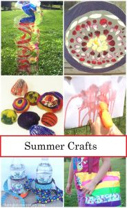 summer camp crafts -- fun kids summer craft ideas that are perfect for a DIY day camp