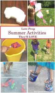 kids summer activities for a backyard summer camp