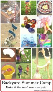backyard summer camp: kids summer activities they'll love