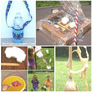 DIY summer camp ideas