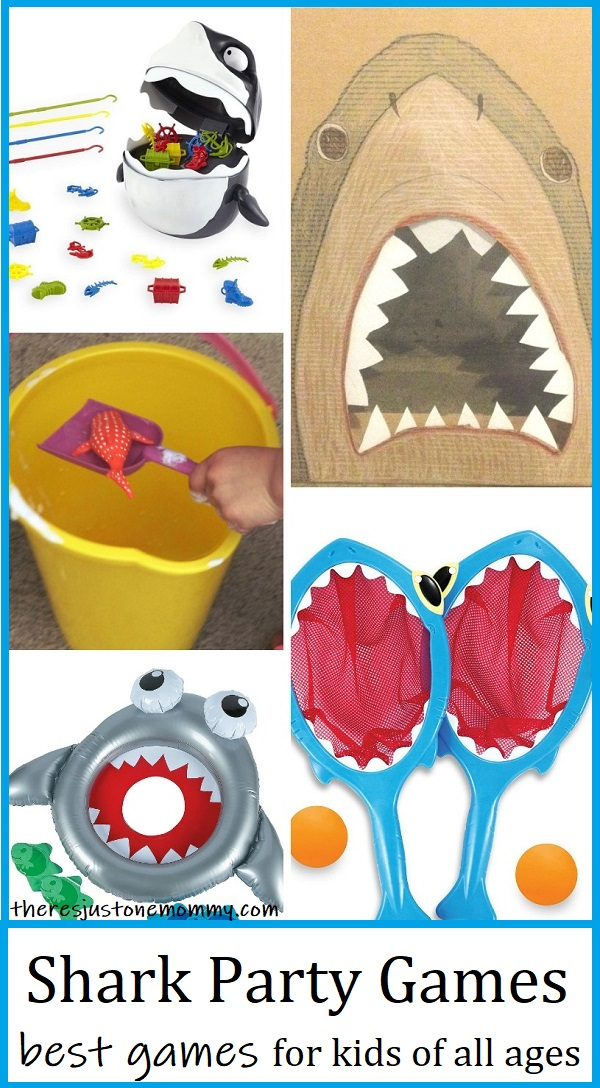 shark games for kids party