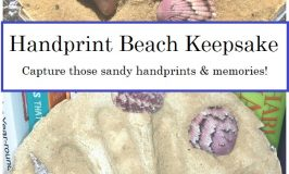 Sandy Handprint — Beach Keepsake Craft