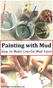 how to make mud paint