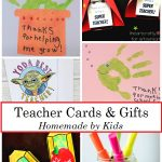 Homemade Teacher Cards and Gifts
