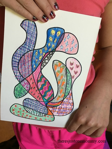 how to do scribble art with kids
