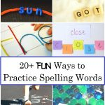 Skip the Drama with These Fun Ways to Practice Spelling Words