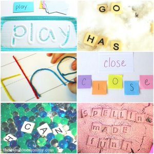 fun ideas for practicing spelling words at home