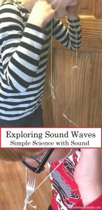 Simple Sound Experiment to Explore Sound Waves