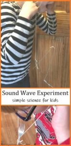simple science experiment to explore sound waves