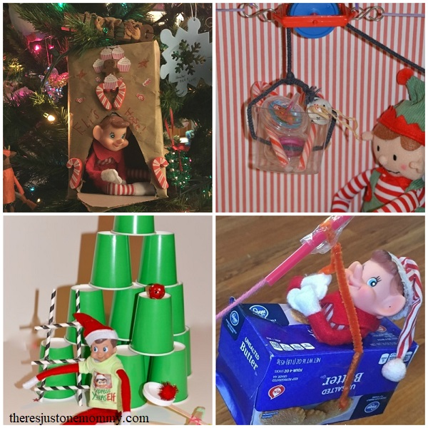 Elf on the Shelf Christmas STEM activities for kids