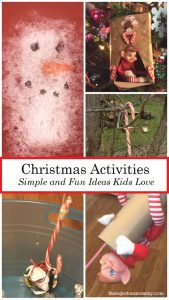 kids activities for Christmas