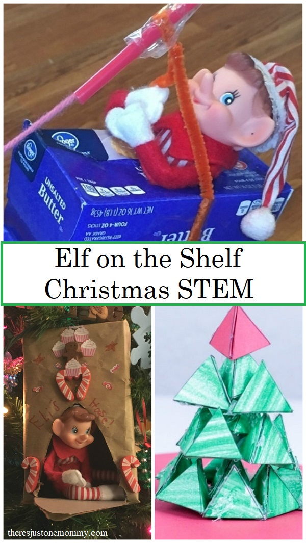 STEM activities with Elf on the Shelf