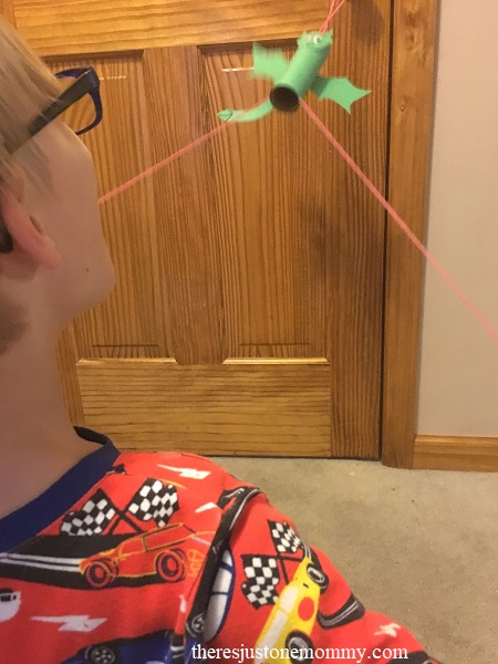 cardboard tube dragon craft for kids