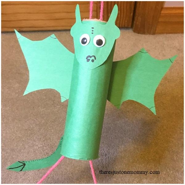 dragon craft for kids