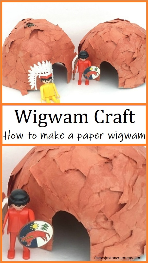 how to make a wigwam out of paper