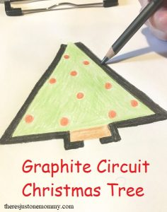 how to make a graphite circuit for STEAM activity