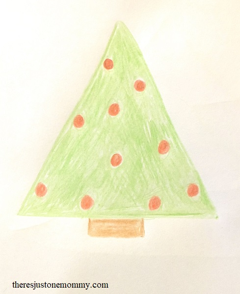 Graphite circuit Christmas tree craft