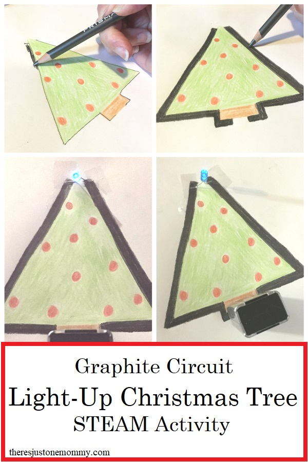 fun Christmas STEAM activity for kids