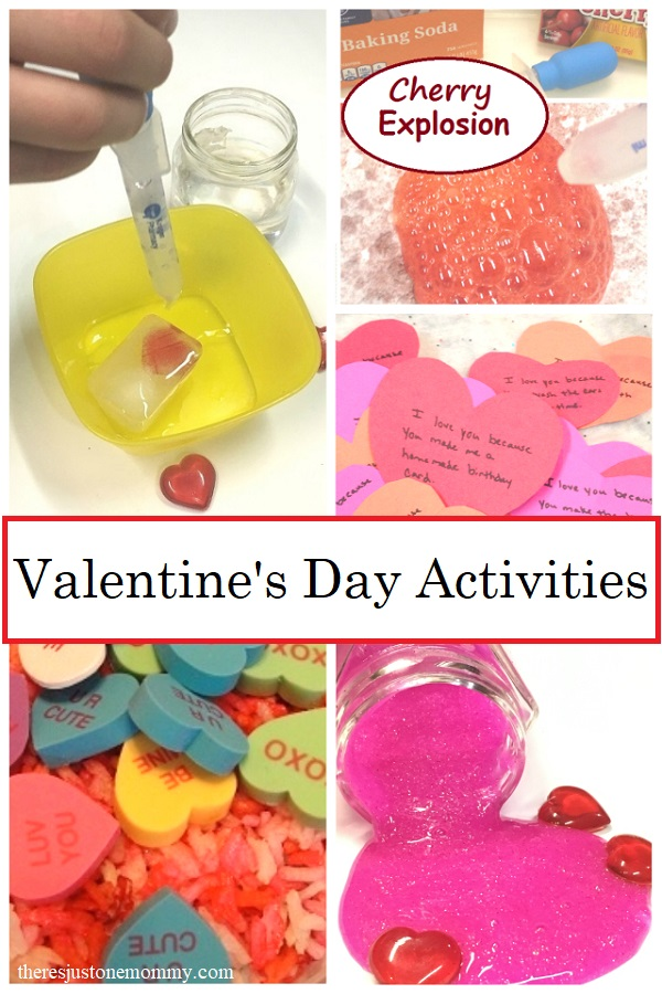kids activities for Valentine's Day
