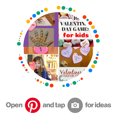 kids Valentine's Day crafts & activities
