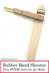 DIY rubber band shooter: STEM activity with rubber bands