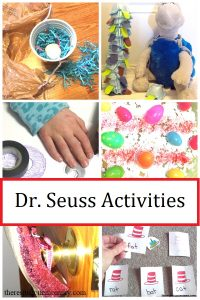 Dr. Seuss book activities
