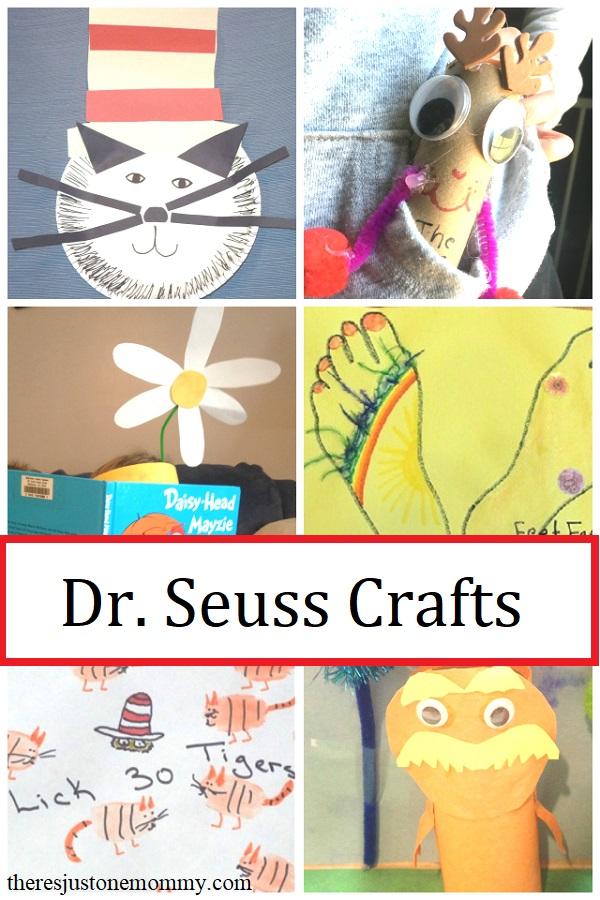 kindergarten Dr Seuss crafts