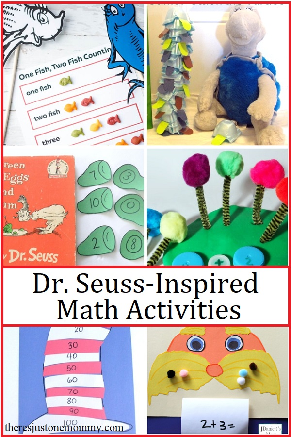 Dr. Seuss math activities