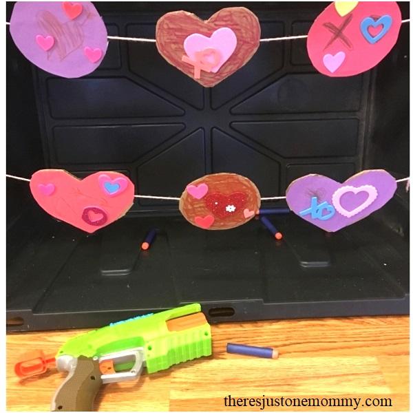 Nerf gun activity