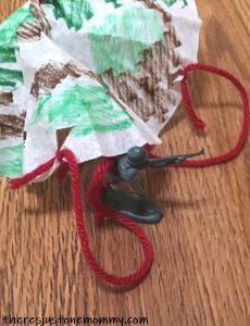 DIY parachute STEM