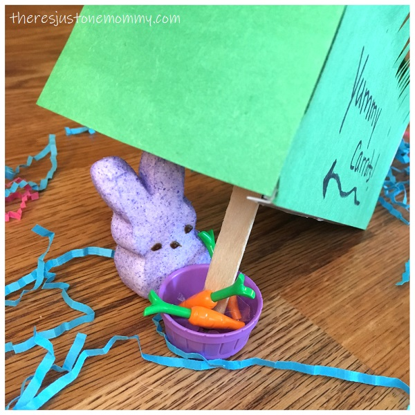 Easter STEM activity with Peeps