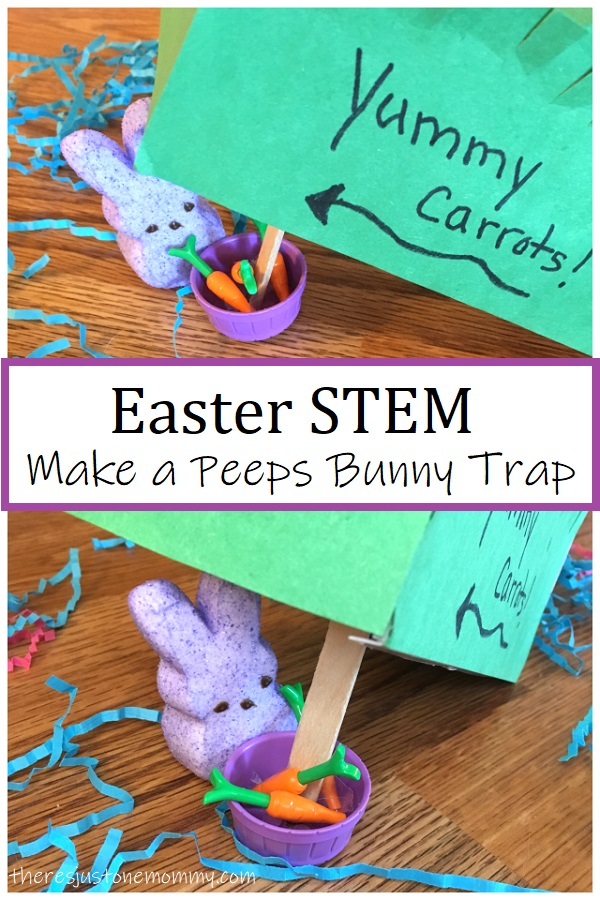 Build a Bunny trap Easter STEM
